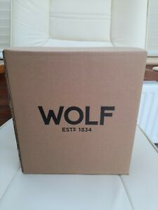 WOLF HERITAGE SINGLE WATCH WINDER WITH COVE 270002 -BRAND NEW IN BOX - RRP ££380