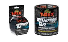 T-Rex Ferociously Fuerte Impermeable Reparar Cinta Grueso - Negro