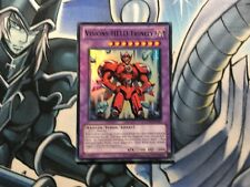 VISION HERO TRINITY GERMAN SUPER RARE GENF-EN091 DE091 NEAR MINT YUGIOH
