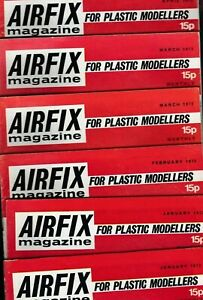 Various Issues of AIRFIX Magazine from September 1964 to January 1985