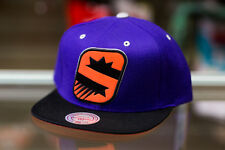 Mitchell & Ness Phoenix Suns Purple/Black/Orange Snapback Hat
