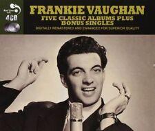 FRANKIE VAUGHAN - 5 CLASSIC ALBUMS PLUS NEW CD