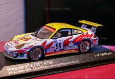 PORSCHE 996 GT3 RSR N°90 White Lightning racing 24H Le Mans 2004  Minichamps1:43