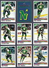 1990-91 Panini NHL Minnesota North Stars Team Set, Modano, Gagner, Murphy...(16)