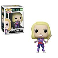 Funko - POP Animation: Rick & Morty - Froopyland Beth Brand New In Box