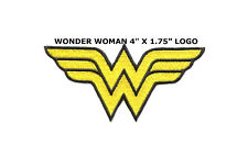 SUPERHERO SUPER HERO WONDER WOMAN EMBROIDERY IRON ON PATCH BADGE