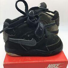 Vintage Baby Nike Force CB34 CB94 Barkley  Black Grey 3.5c
