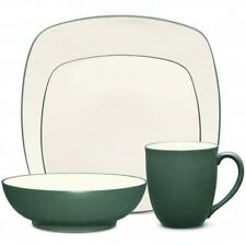 Noritake Colorwave Spruce Square 48Pc Dinnerware Set, Service for 12