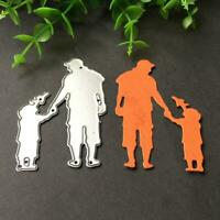 Family DIY Metal Cutting Dies Stencil Scrapbooking Album Card Embossing New