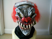 Horror Halloween Zygone studios Moving mouth killer clown mask