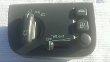 00-05 CADILLAC DEVILLE CHARCOAL GREY HEADLIGHT DIMMER TRUNK RELEASE SWITCH OEM