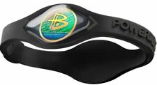 BRACELET POWER BALANCE Wristband Black Noir ENERGIE EQUILIBRE FASHION L