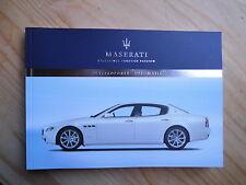 Betriebsanleitung MASERATI Quattroporte Automatic NEU 12/2006 Owners Manual