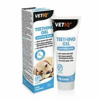 VetIQ Teething Gel For Dog Puppies 50g Reduces Pain Soothes and Calms Sore Gums