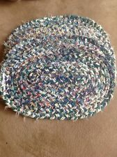 New listing 4 piece Table Placemat Set ( heavy material)