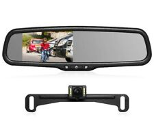 AUTO-VOX T2 Backup Camera Kit,OEM Rear View Mirror Monitor with IP68 BRAND NEW
