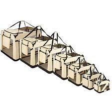Cage sac box panier caisse de transport pour chien chat mobile pliable