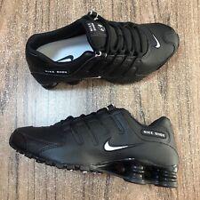 A922G Nike Shox NZ EU Black 501524-091 Mens Shoes Size 8.5 NEW