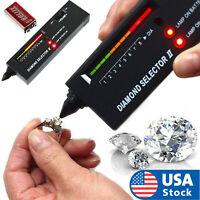 USA High Accuracy Professional Diamond Tester Gemstone Selector Jeweler Tool Kit