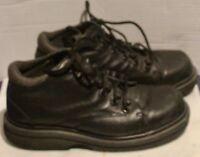 Dr. Martens Shoes Men's Size 6 Black Leather Split Shoe Doc Martens
