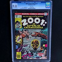 2001 A SPACE ODYSSEY #1 (Marvel 1976) 💥 CGC 9.8 WHITE PGs 💥 Jack Kirby Art!