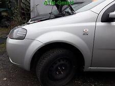 Kotflügel links Chevrolet Kalos Farbcode 92U Farbe Polysilver Silber Metallic