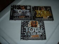 total club hits cd lot of 3