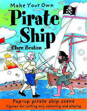 NEW House Of Marbles Make Your Own Pirate Ship by Clare Beaton