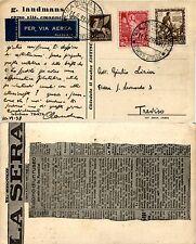 REGNO-Impero 10c+20c(439+440)+P.Aerea(PA11)-Cartolina AEROFILATELIA 11.6.1939