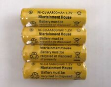 4-pcs1.2v AA (800mAh) Ni-Cd Rechargeable Battery For Solar Light