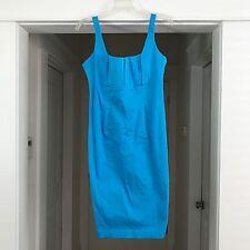 Calvin Klein Bright Blue Pencil Sheath Dress Small