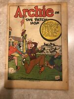 Archie Comics #26 Very Nice Unrestored Golden Age MLJ Teen Comic Coverless