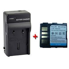 BN-VF707U BN-VF707US Battery + Charger for JVC GR-D347 GR-D347U MiniDV Camcorder