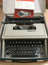 Vintage Olivetti Dora Typewriter and Case Working With Ribbon Fitted Immaculate
