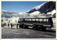 CANADA Kanada Snowcoach Snowmobile Athabasca Glacier Gletscher Ansichtskarte