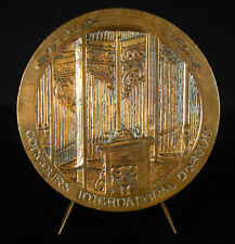 Medalla Concurso international órgano iglesia Chartres 1971 church organ medal
