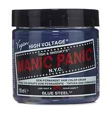 Manic Panic Semi-Permament Haircolor, Blue Steel 4 oz