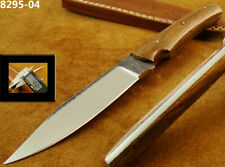 "HANDMADE ORIGINAL 8.6"" FILE STEEL KNIFE SAWMILL HUNTING,CAMPING KNIFE (8295-4-rb"