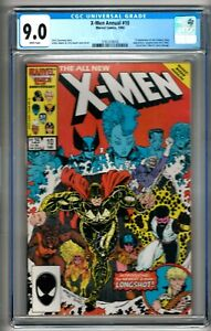 "X-Men Annual #10 (1986) CGC 9.0  White Pages  Claremont - Adams  1st ""X-Babies"""
