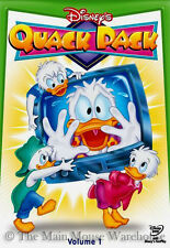 Disney Channel Cartoon Afternoon Series Quack Pack DVD Donald Huey Dewey Louie