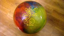 BRAND NEW Vintage Walt Disney Brunswick Mickey Mouse Cosmic Bowling Ball