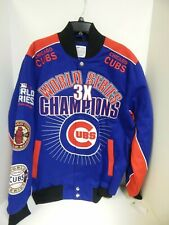 Chicago Cubs Men's Jacket World Series Champion GIII Sample Size Large