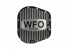 WFO Concepts Ford F150 Rear Aluminum Differential Cover, WFO F9.75GB