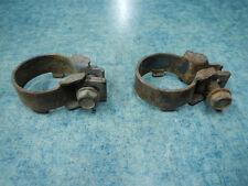 EXHAUST MUFFLER PIPE CLAMPS 1990 KAWASAKI KLF300C BAYOU KLF300 300 90