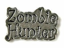 Lapel Pin Zombie Hunter