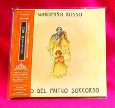 Banco Del Mutuo Soccorso Garfano Rosso MINI LP CD JAPAN WAS-1035