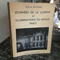 Giorni Della Luce E Illuminations Palude Parigi Feste Trenta-Anno Afe 1960