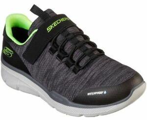 Skechers Children's Waterproof, Lightweight, Trainers, Shoes in Black, UK 11 - 2