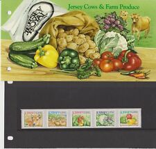 JERSEY PRESENTATION PACK 2001 Jersey Cows & Farm Produce Stamp Set