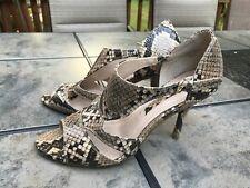 Women Nine West, Allegator heels Stiletto 6.5M USA size, Pre-owned